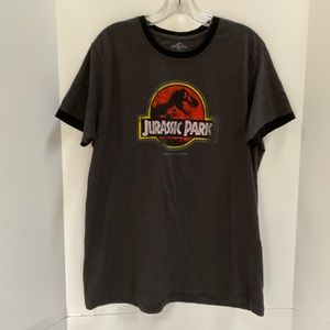 Universal Studios Jurassic Park t-shirt gray XL